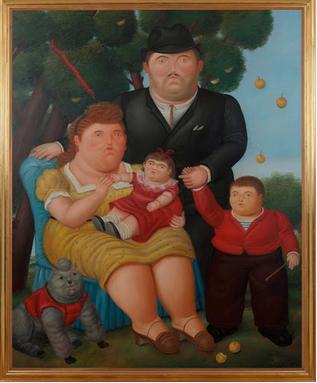 botero una familia