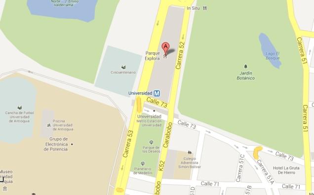 google maps medellín