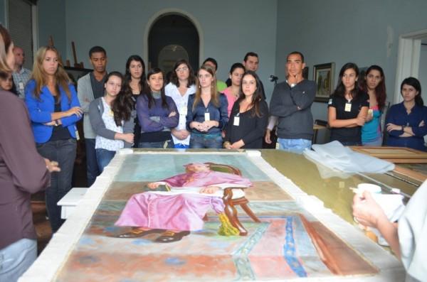 Visita Técnica de alunos do curso de Turismo UFJF