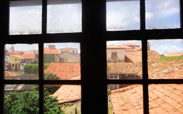 Vista dos telhados do centro Histórico