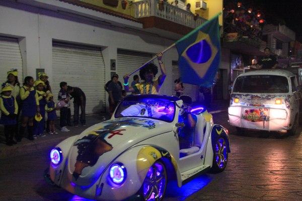 Brasil no Carnaval de Cozumel