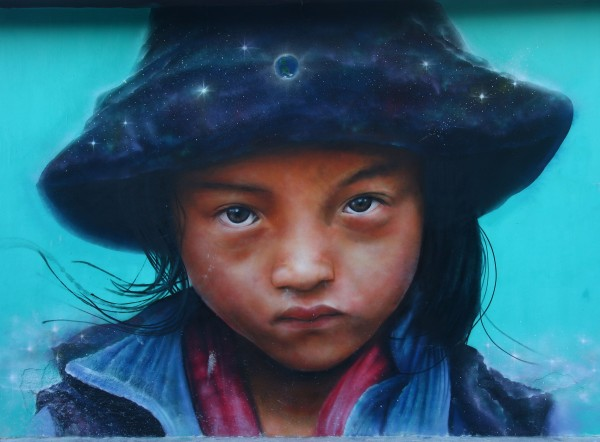 Mural em Holbox