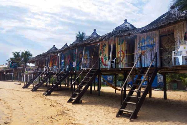 Cabanas em Zipolite